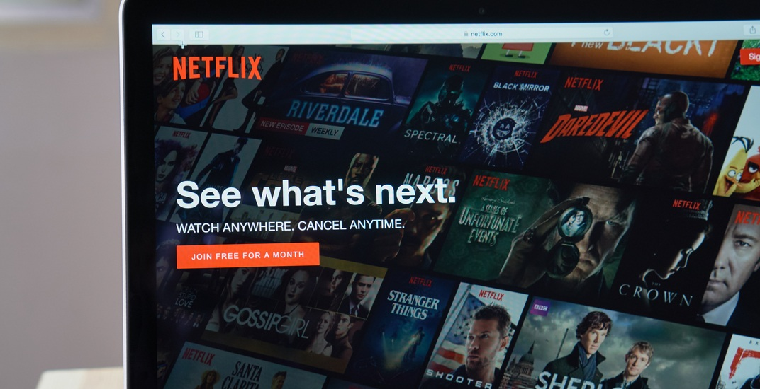 Netflix officially makes its first investment outside of the US on Canadian content