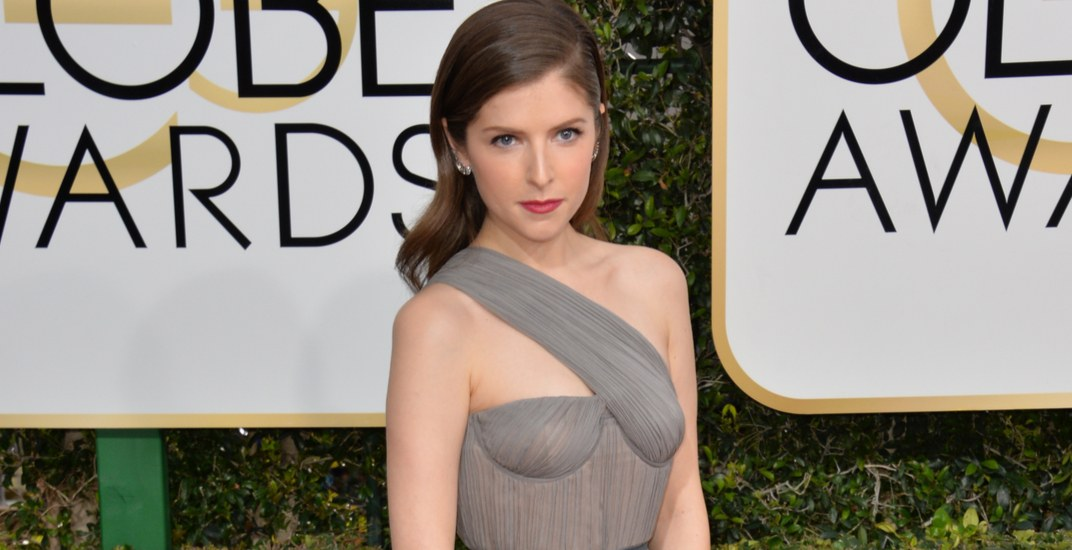 Anna Kendrick at the 74th Golden Globe Awards at The Beverly Hilton Hotel, Los Angeles on January 8, 2017