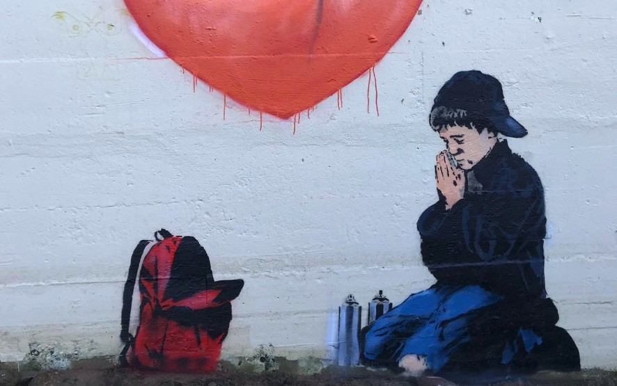 This awesome new street art was just spotted in Vancouver (PHOTO)