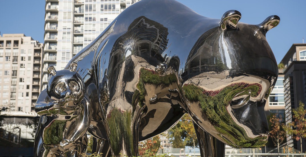 Giant pandas have finally come to Vancouver... as public art