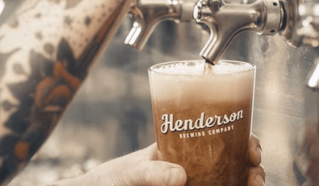 Henderson Brewing Co beer