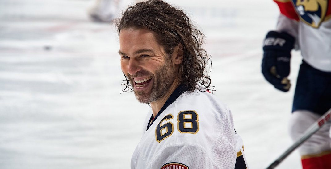 Jaromir Jagr signs $1 million contract with Calgary Flames