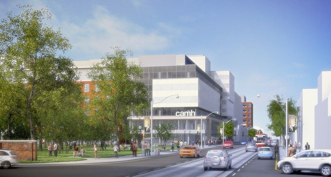 Major CAMH redevelopment project begins on Queen Street West (RENDERINGS)