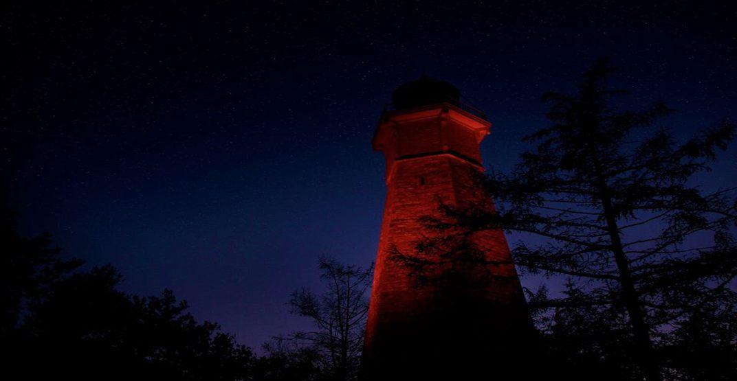 Spooky Island Toronto Island Light House