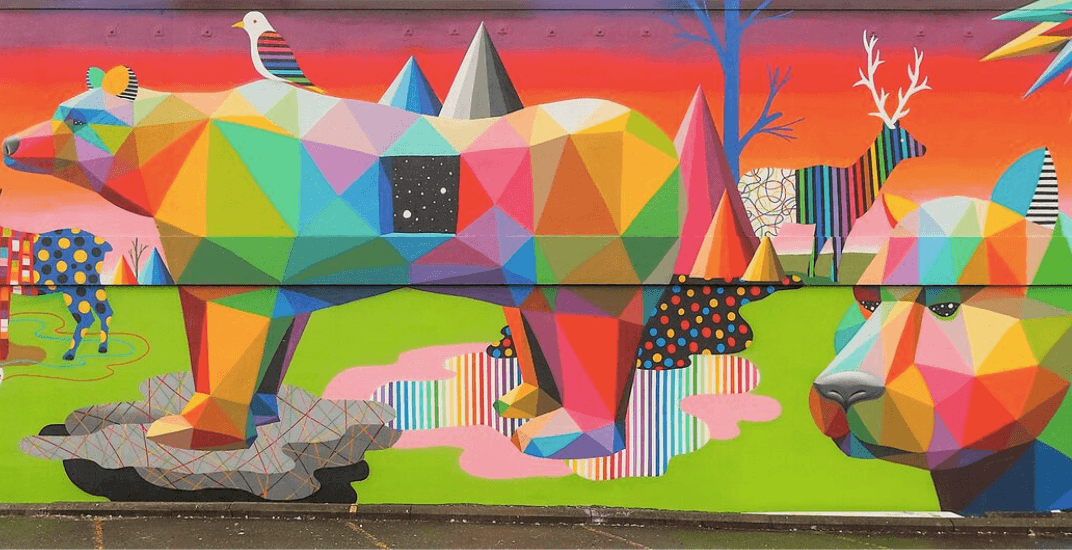 Vancouver's newest mural painted by world renowned urban artist (PHOTOS)