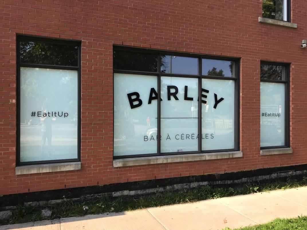barley cereal bar
