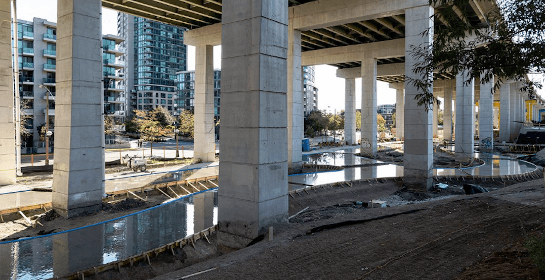 Toronto's new skating trail under the Gardiner announces official opening date