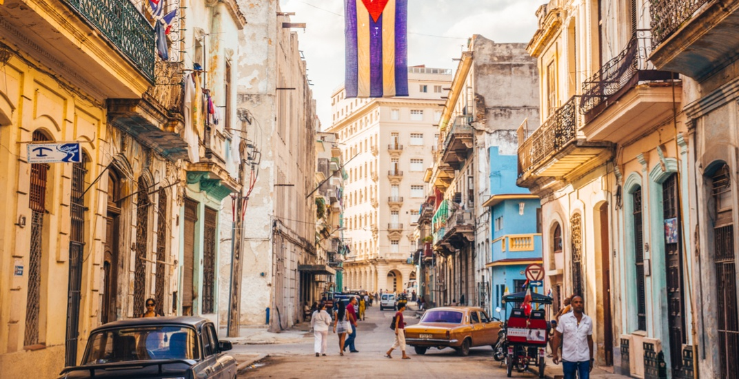 You can fly from Montreal to Cuba for under $300 round trip next week