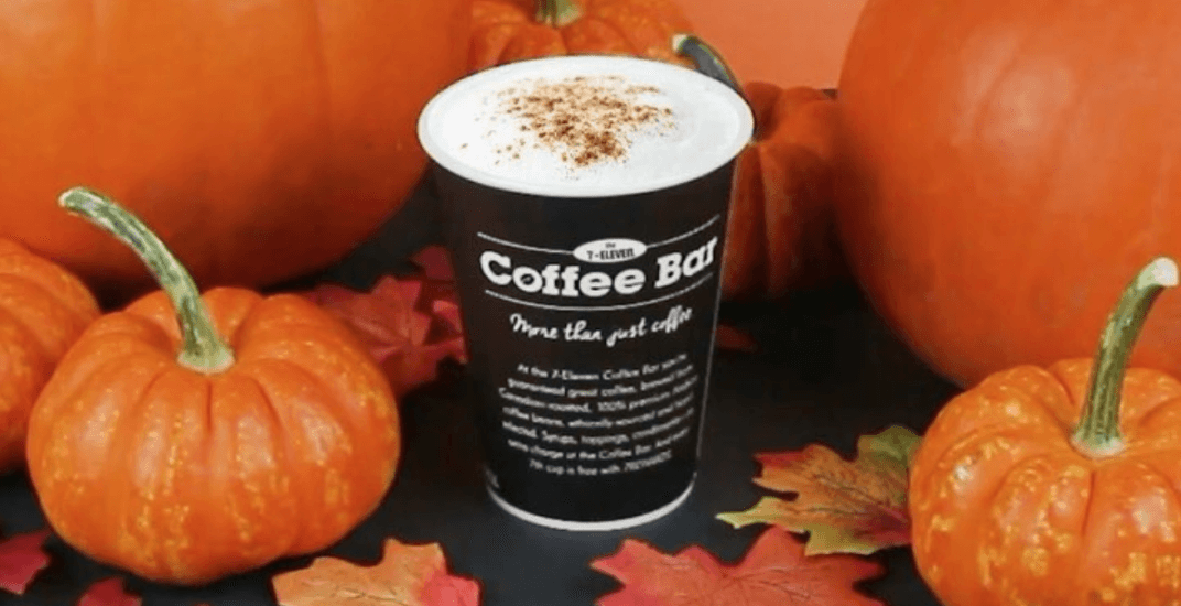 7-Eleven is giving away FREE Pumpkin Spice Lattes next week