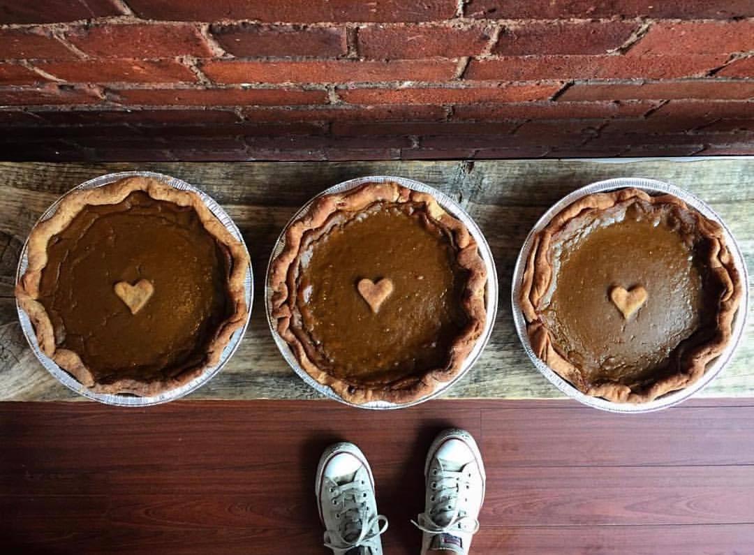 Bunner's vegan pumpkin pie