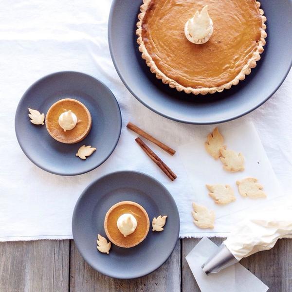 Bobbette and Belle pumpkin pie