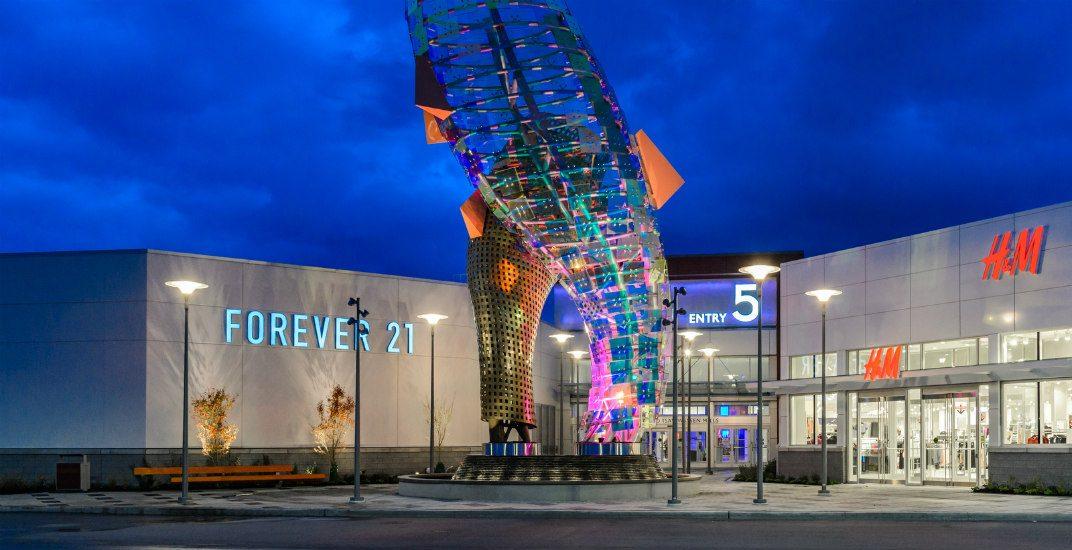 Mall exteriortsawwassen mills