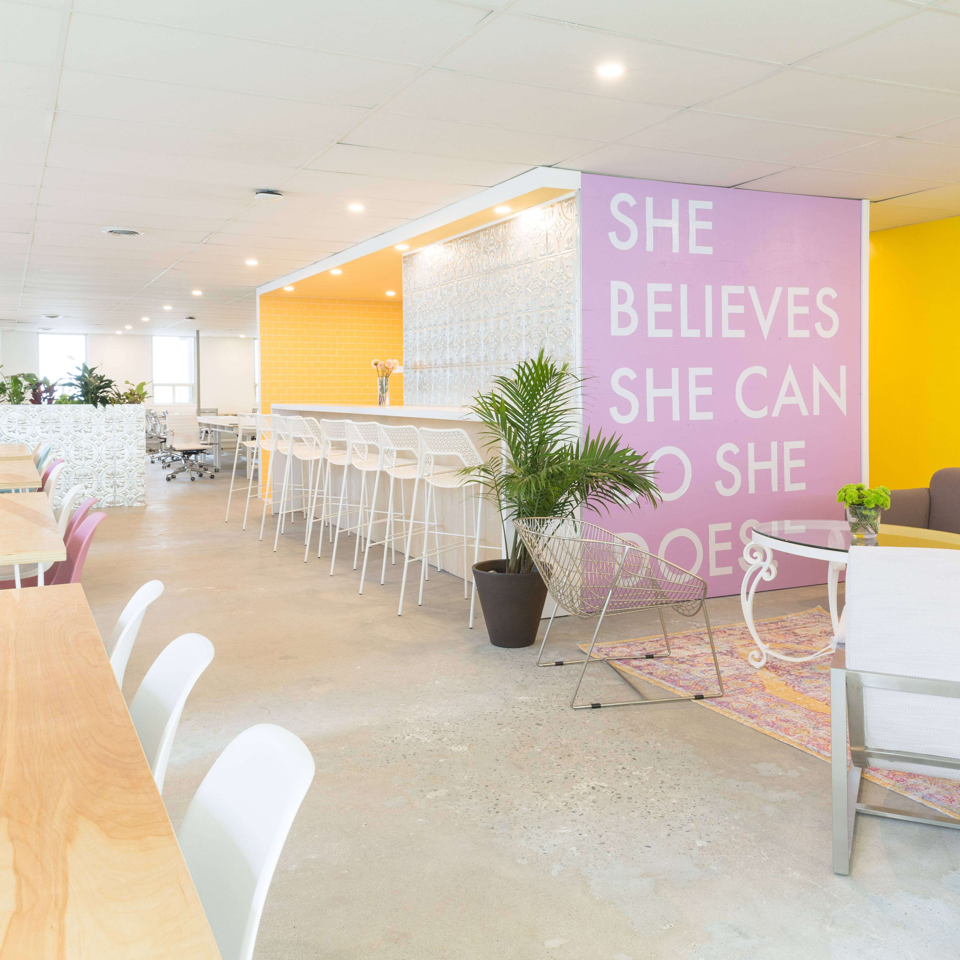 Inside Toronto's new women-only co-sharing workspace
