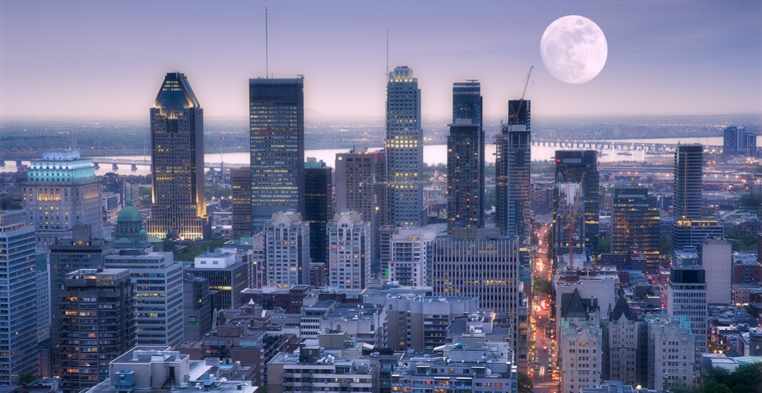 An incredible harvest moon is set to rise over Montreal tomorrow