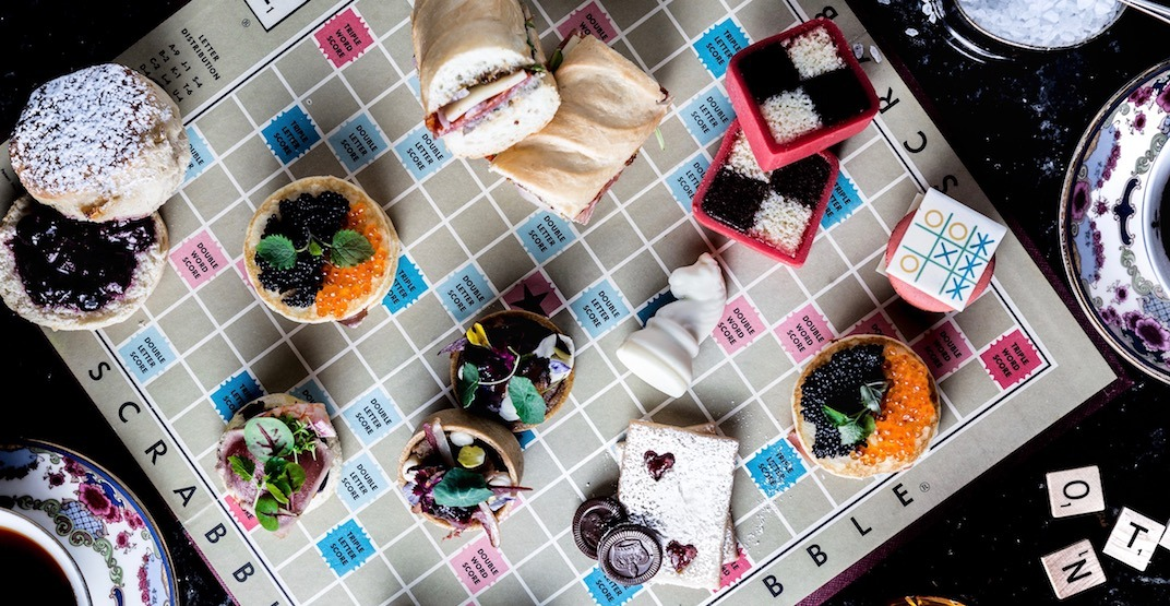 Get your game on with this new high tea in Vancouver