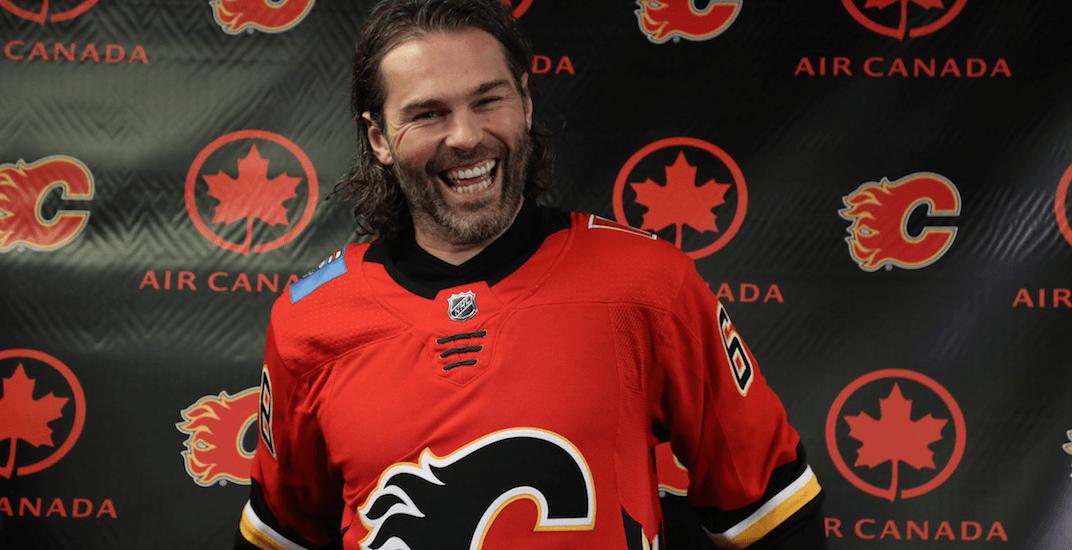 Jaromir Jagr will make his Flames debut tonight