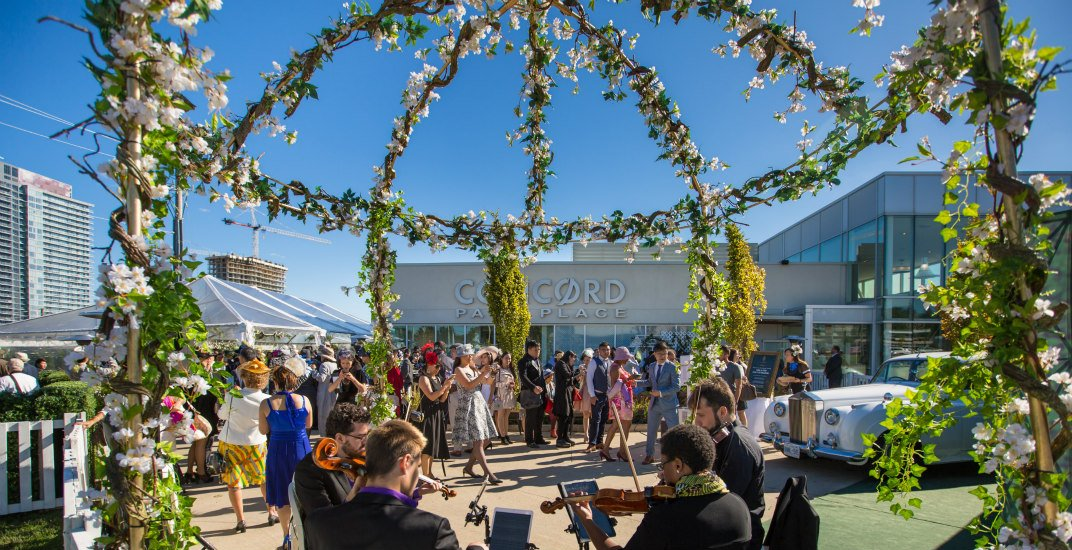 This is what Concord's lush garden party looked like last weekend (PHOTOS)