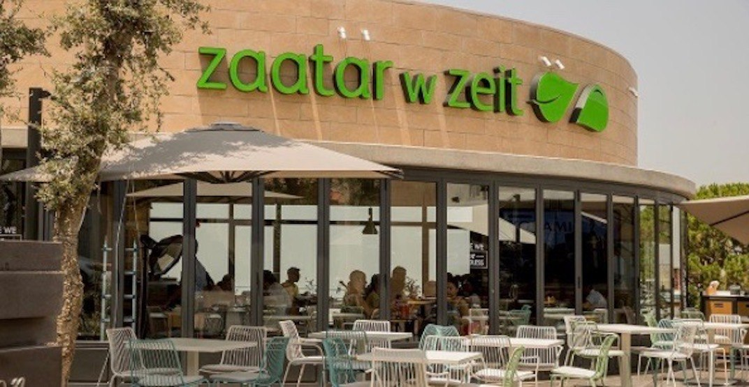 Popular Middle Eastern chain Zaatar W Zeit to open in Vancouver