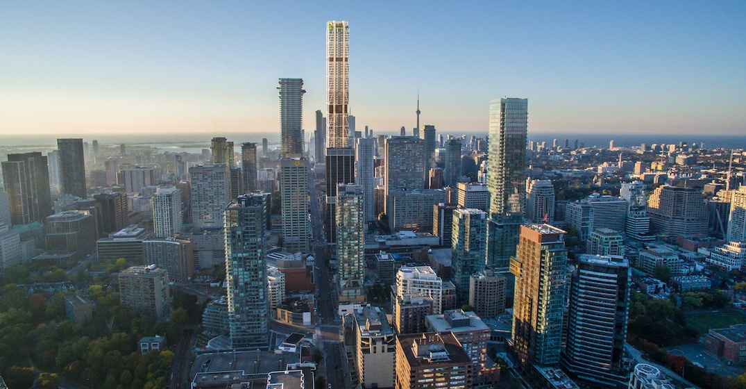 Construction begins on Canada's largest residential building in Toronto