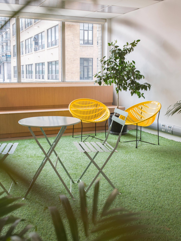 Make Lemonade indoor patio