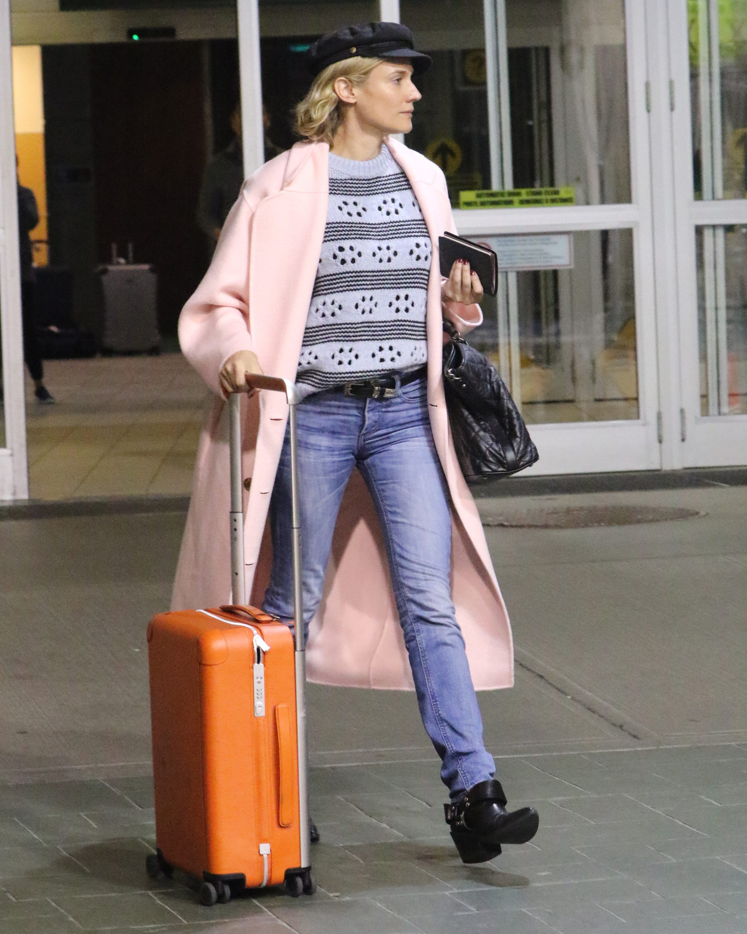 Diane Kruger Arrives Into Vancouver To Film The Women Of Marwen Daily Hive Vancouver