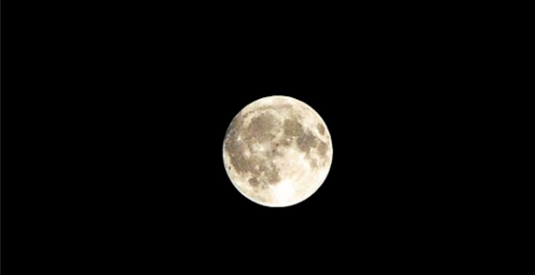 16 shots of Wednesday's Harvest Moon over Vancouver (PHOTOS)