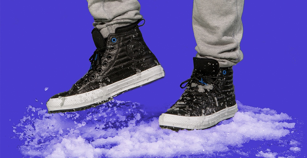 Converse dropped new waterproof Chuck Taylors just in time for winter