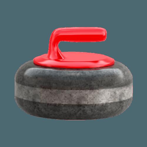 curling rock emoji