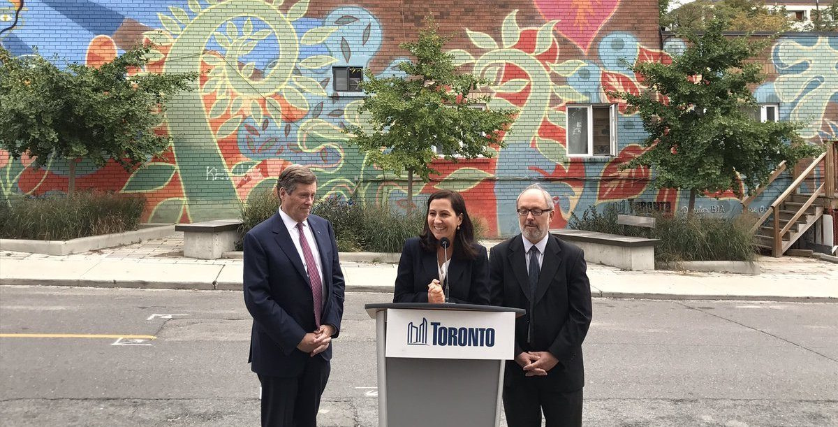 Toronto just got a new Deputy Mayor and Poverty Reduction Advocate