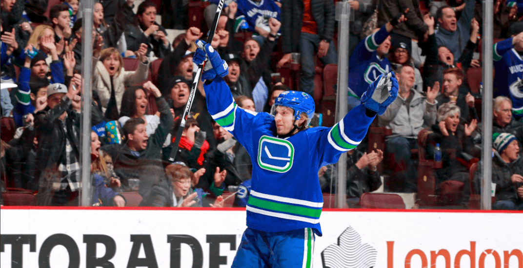 Canucks re-sign Markus Granlund to one-year contract