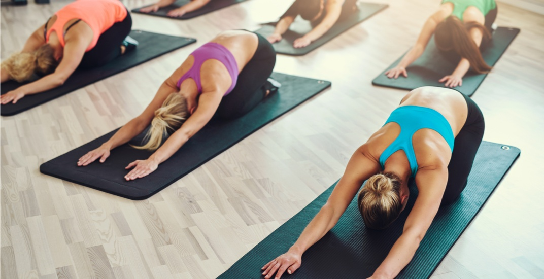 You can take FREE fitness classes at the Sony Centre