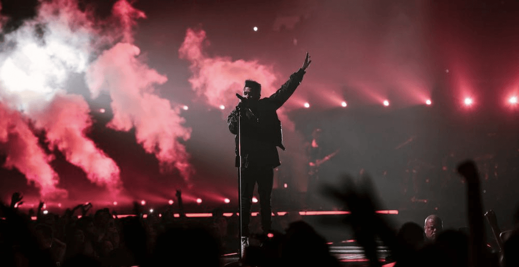 The Weeknd lights up Rogers Arena Thursday night (PHOTOS, VIDEO)