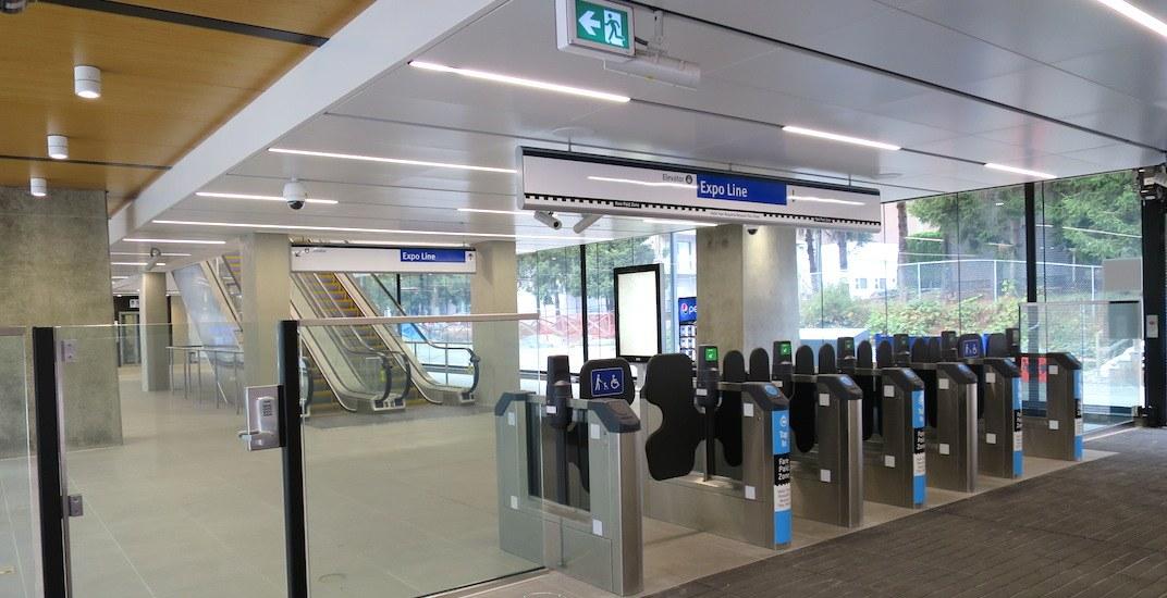 Skytrain expo line joyce collingwood station 5