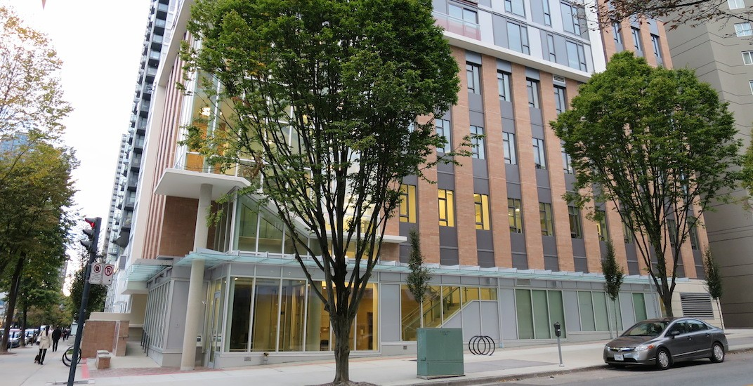 81-unit social housing building in downtown Vancouver now complete