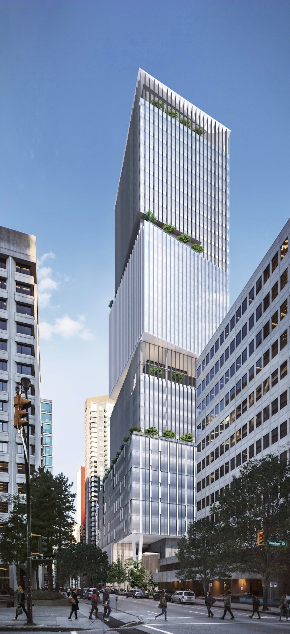 550-foot-tall 'stacked box' office tower proposed for ...