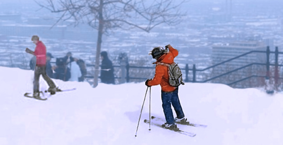 This idea to convert Mount Royal into an urban ski hill is amazing (PHOTOS)