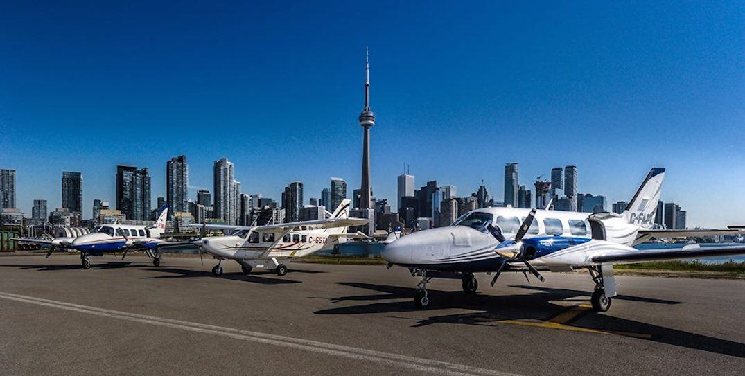 You can now fly from Toronto to Kitchener-Waterloo and Barrie