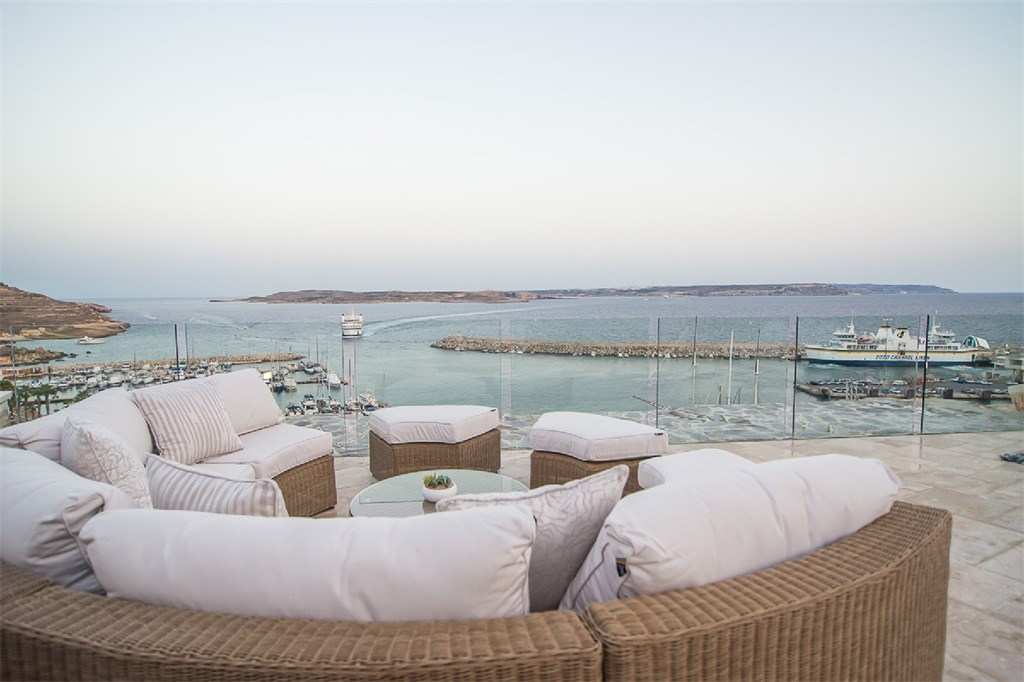 The view from a home for sale in Gozo, Malta (Sotheby's International)