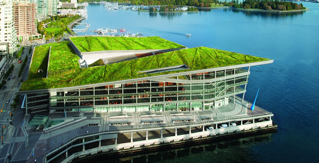 Vancouver convention centre green roof