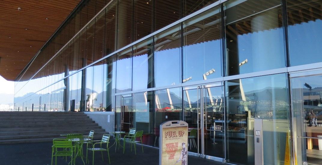 Vancouver convention centre cafe 1