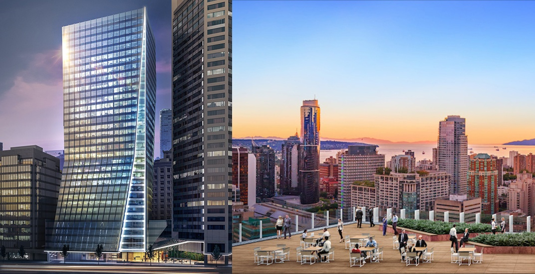 Construction begins on new Vancouver Centre II office tower