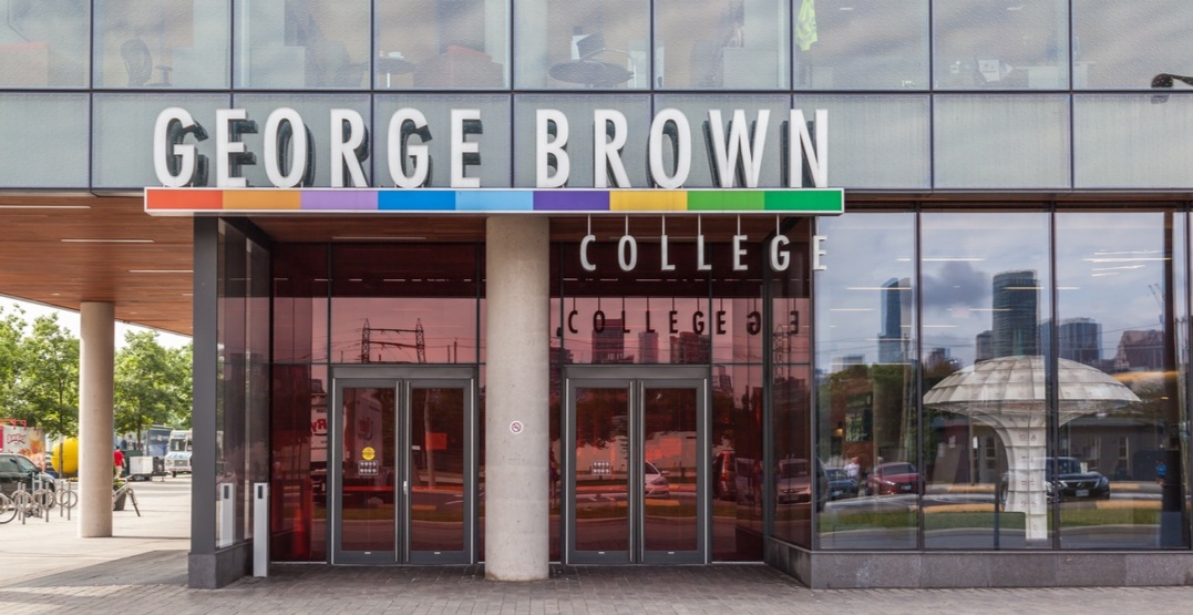 George Brown suspends in-person classes for a week