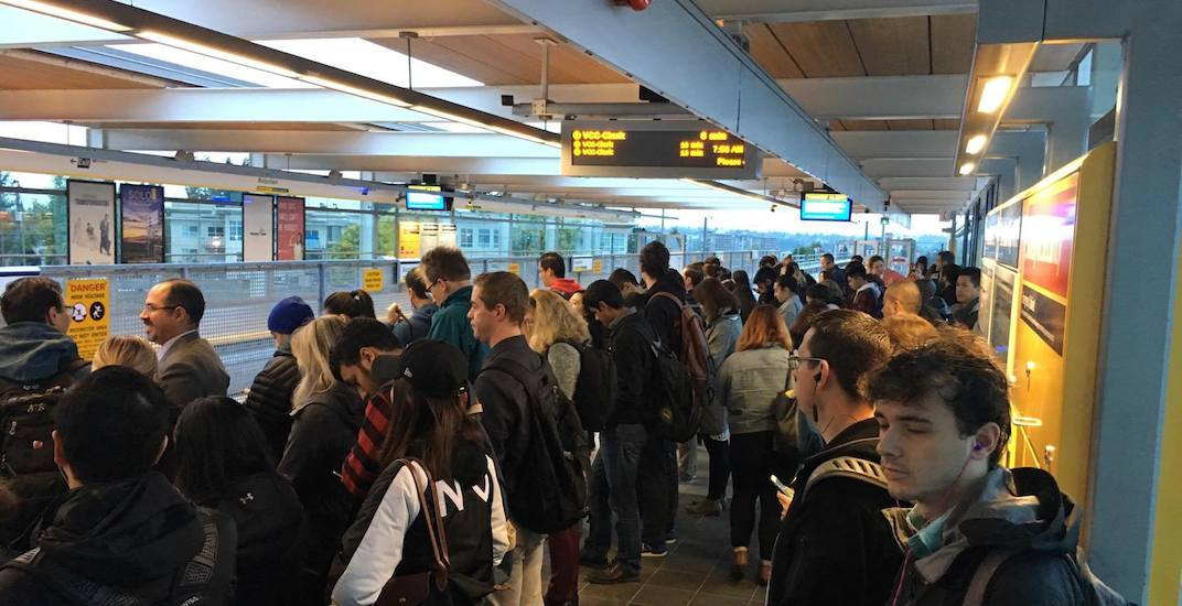 Record transit ridership in Metro Vancouver last month
