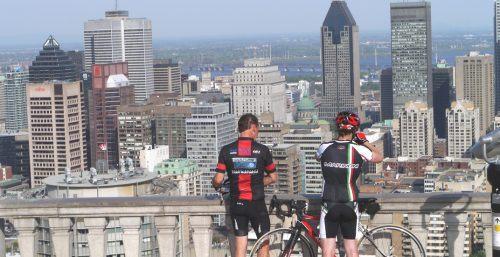 mount royal cyclist