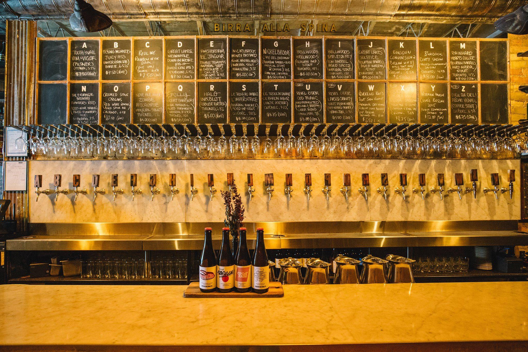 Birreria Volo craft beer bar