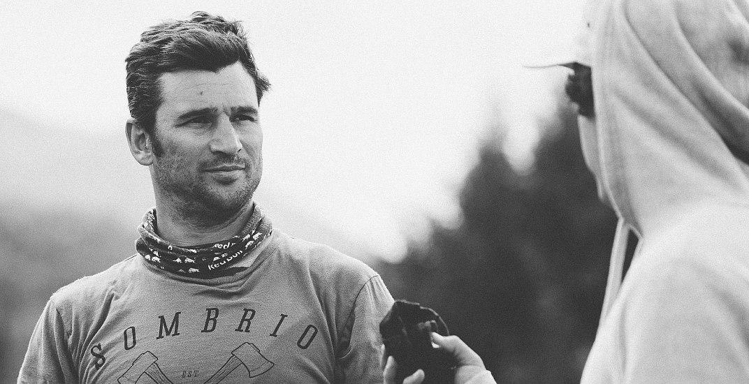 Mountain biker pro Darren Berrecloth rides Canada's most dangerous terrain