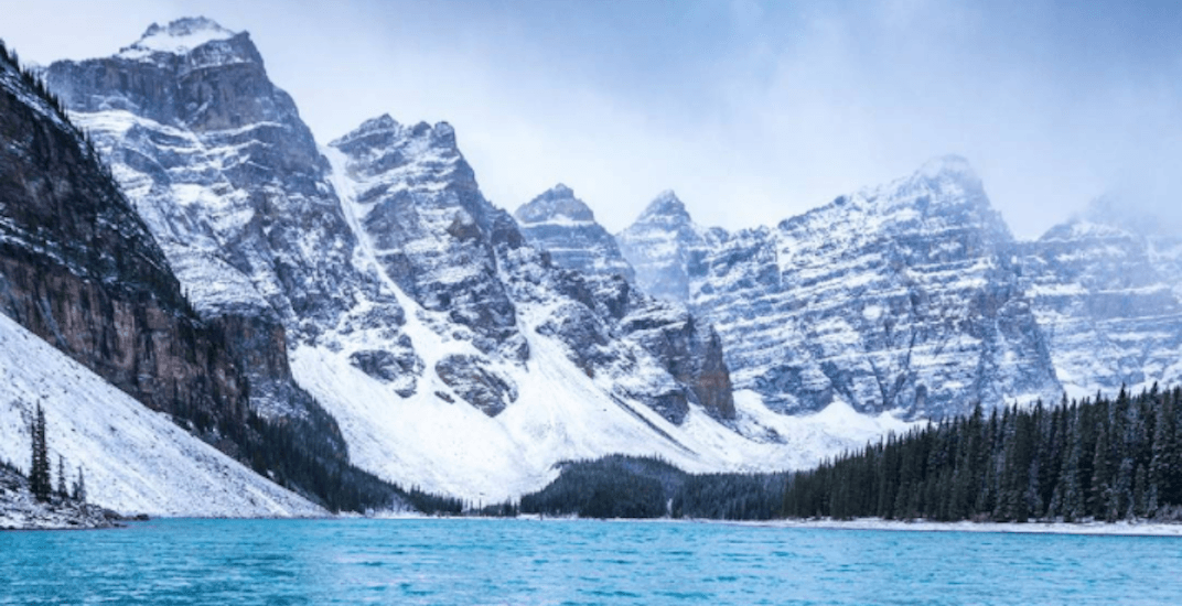 Yesterday's snowfall turned Banff into a winter wonderland (PHOTOS)