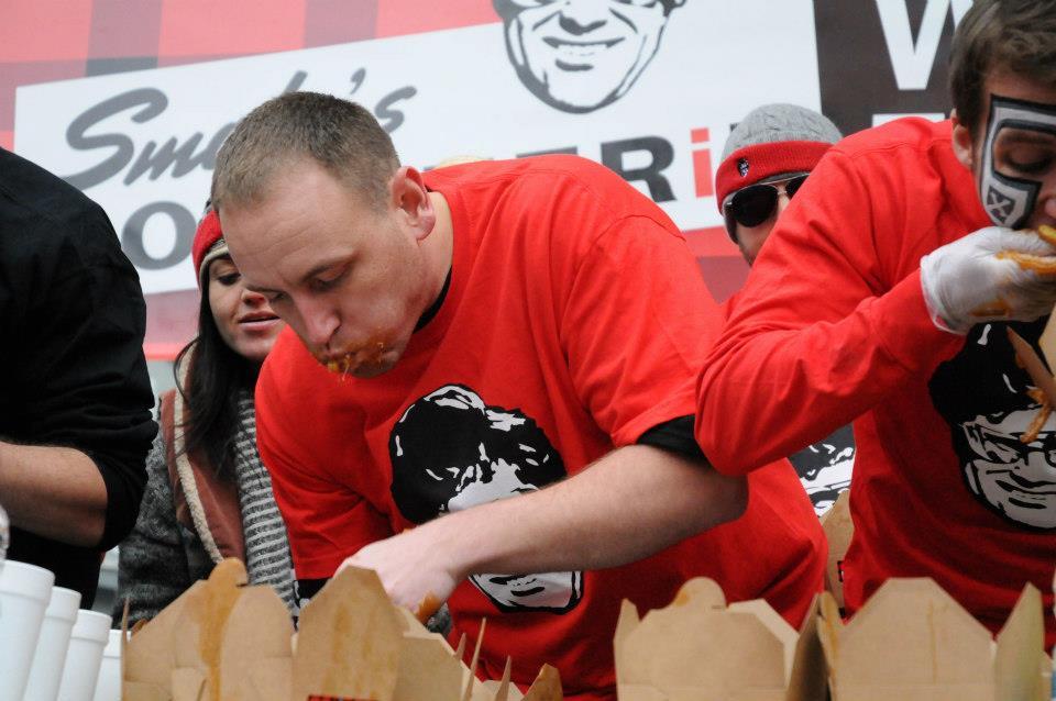 Poutine eating championship