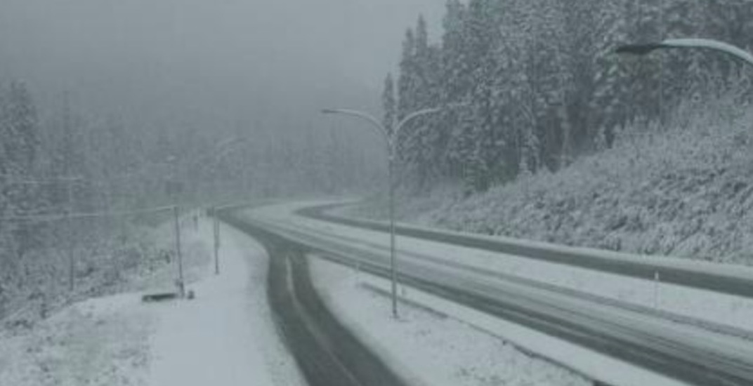 Winter east of Hope: Heavy snowfall on BC Interior highways (PHOTOS)