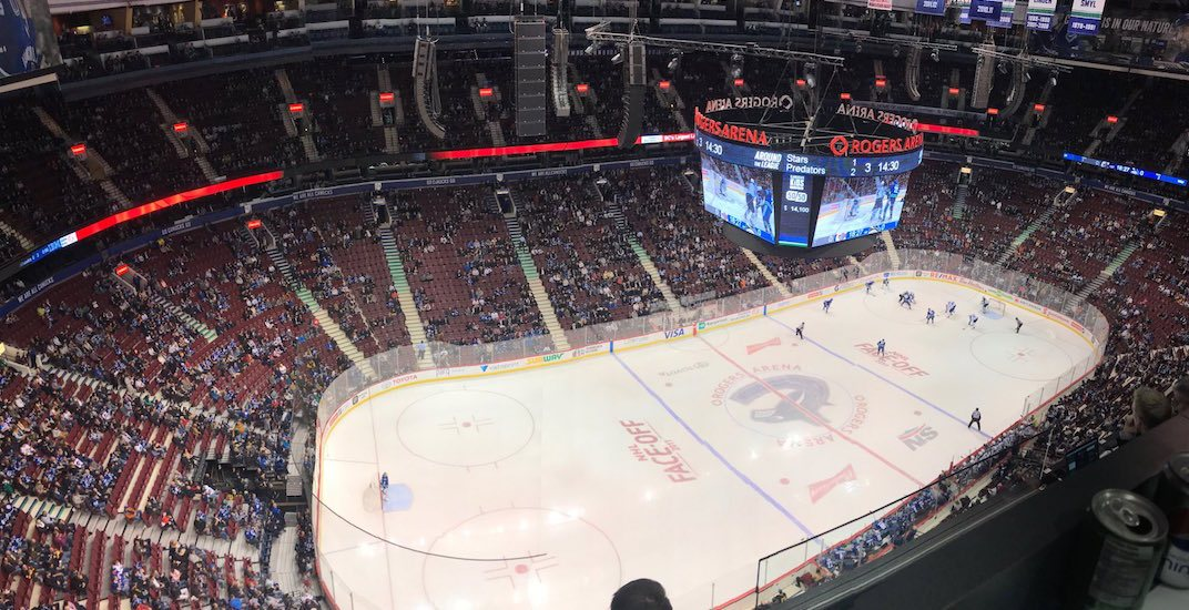 Rogers Arena sees lowest attendance for Canucks game in over 15 years